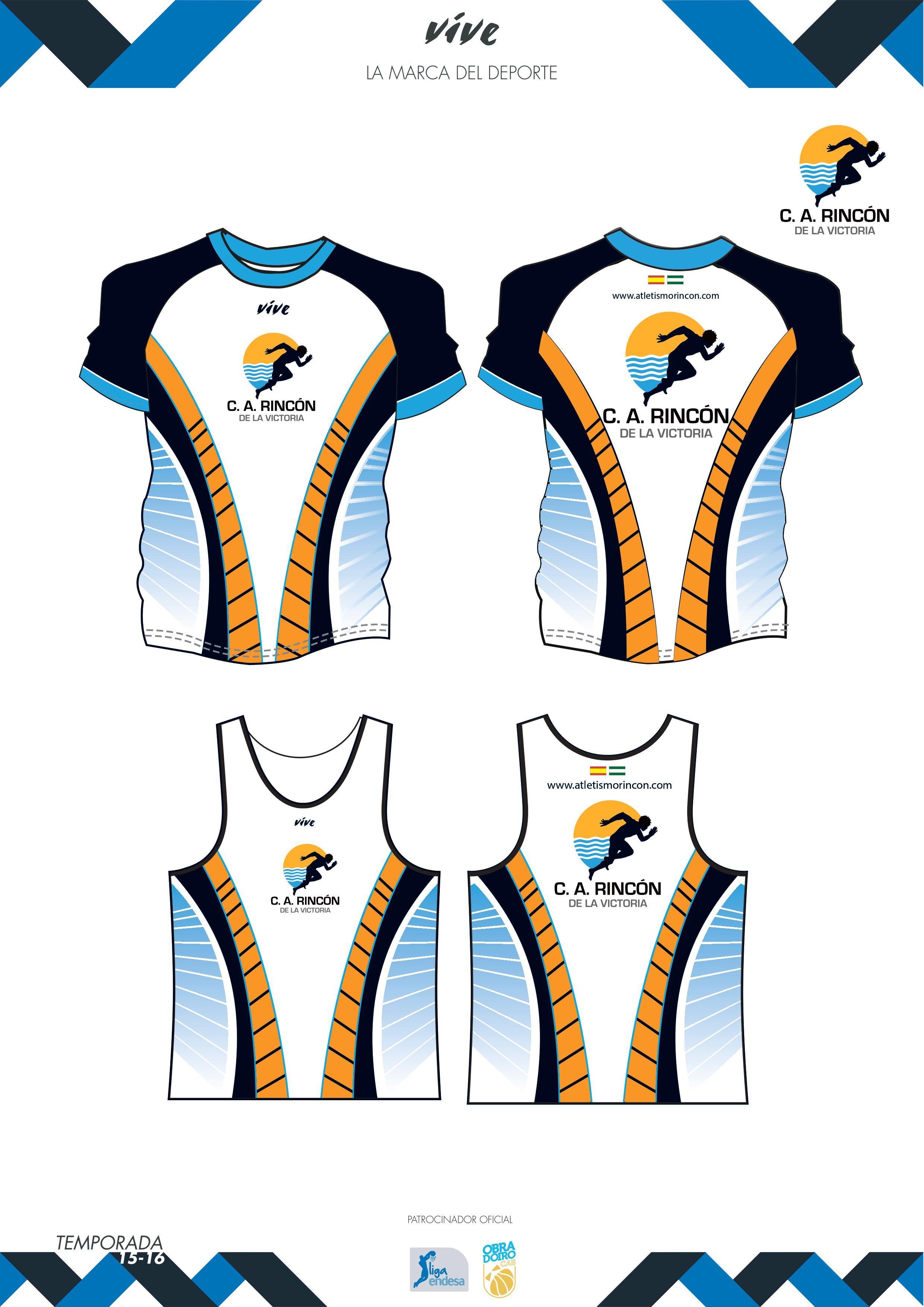 Nuevo vestuario Club Atletismo Rincon