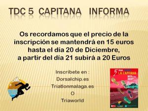 TDC 5 La Capitana Informasubida